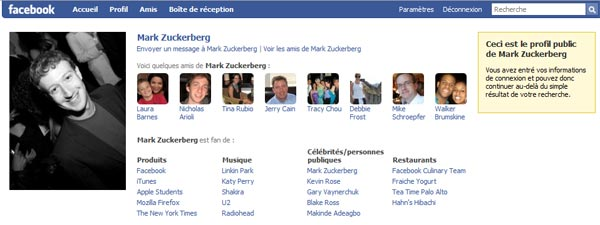 how to see my public facebook profile
