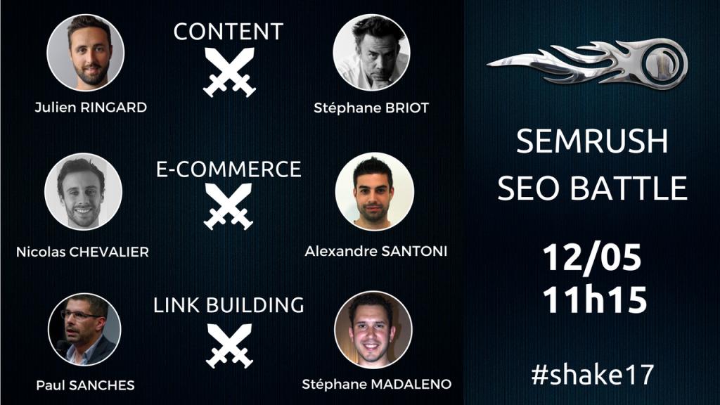 SEO Battle avec SEMrush et Alexandre Santoni